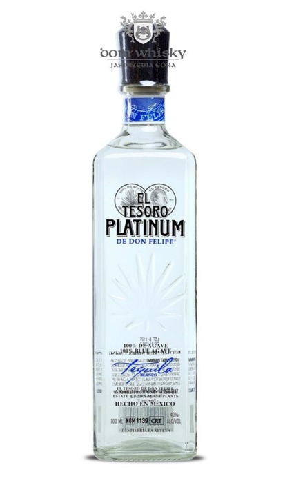 El Tesoro Blanco Platinium 100% Blue Agave / 40% / 0,7l