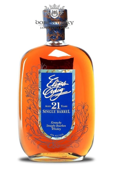Elijah Craig 21 letni Single Barrel / 45% / 0,75l