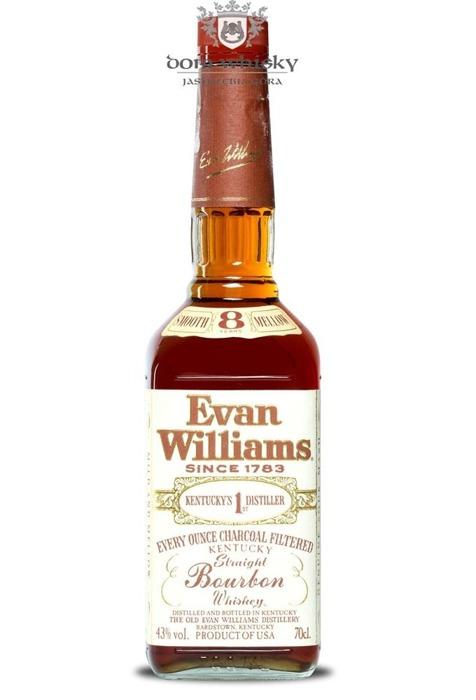 Evan Williams 8-letni Charcoal Filtered Bourbon / 43% / 0,7l