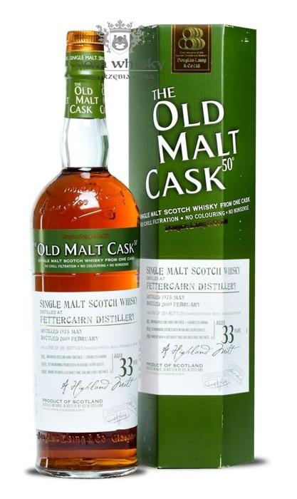 Fettercairn 33-letni (D.1975 B.2009) Old Malt Cask / 50% / 0,7l