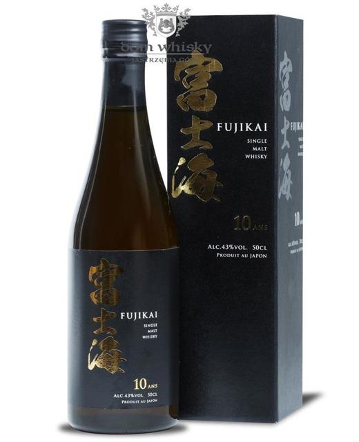 Fujikai 10-letni Single Malt / 43% / 0,5l