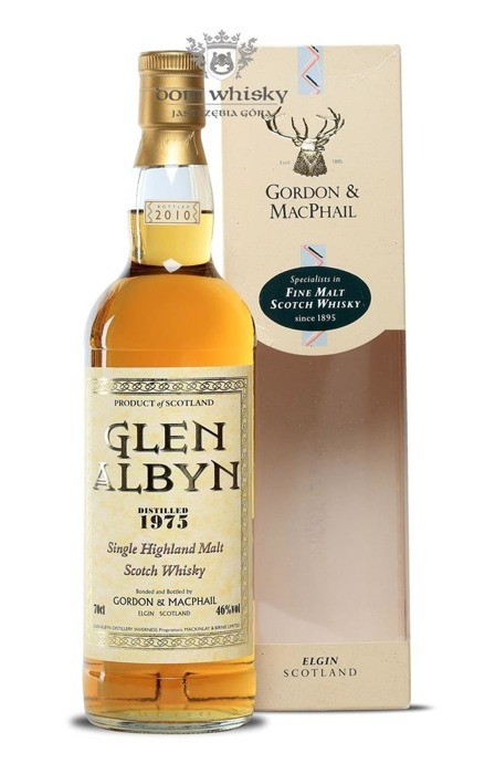 Glen Albyn 1975 (Bottled 2010) Gordon & MacPhail / 46% / 0,7l