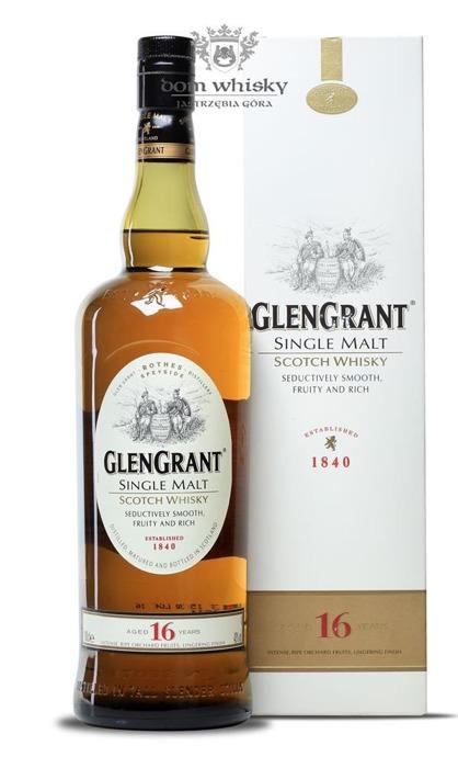 Glen Grant 16-letni / 43% / 1,0l