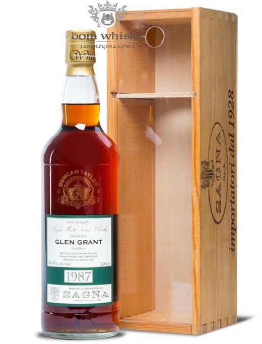 Glen Grant 1987, B.2010 (22-letni) Duncan Taylor/56,8%/0,7l