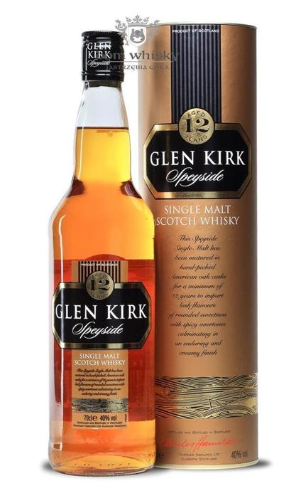 Glen Kirk 12 letni Speyside Single Malt / 40% / 0,7l