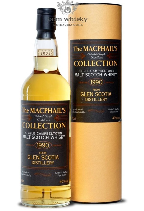 Glen Scotia 1990 (B.2005)The MacPhail's Collection / 40%/0,7l