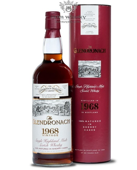GlenDronach 1968, 25-letni (Bottled 1993) / 43% / 0,7l