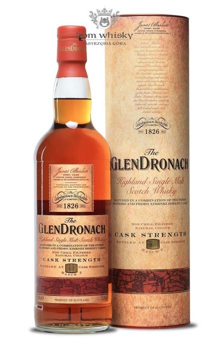GlenDronach Cask Strength Batch # 2 / 55,2% / 0,7l