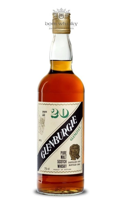 Glenburgie 20 letni D.1968 B.1988 SESTANTE / 40% / 0,75l