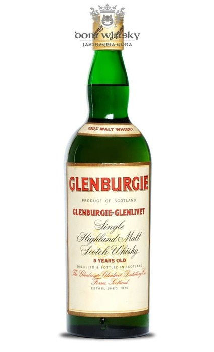 Glenburgie-Glenlivet 5-letni (Bottled 1960s) / 40% / 0,75l