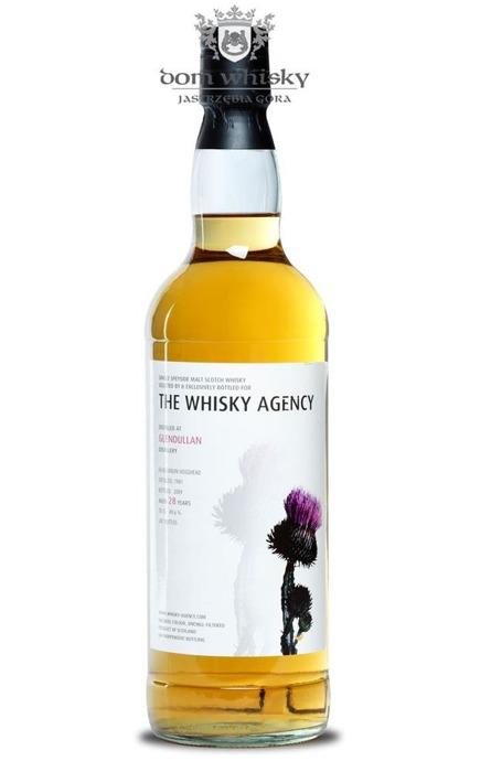 Glendullan 28-letni (D.1981 B.2009) The Whisky Agency /49,6%/0,7