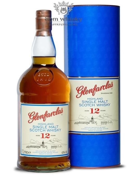 Glenfarclas 12-letni / 43% / 1,0l