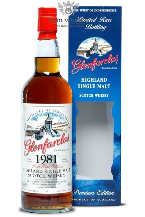 Glenfarclas 1981 Port Pipe Edition (Bottled 2014) / 46% / 0,7l