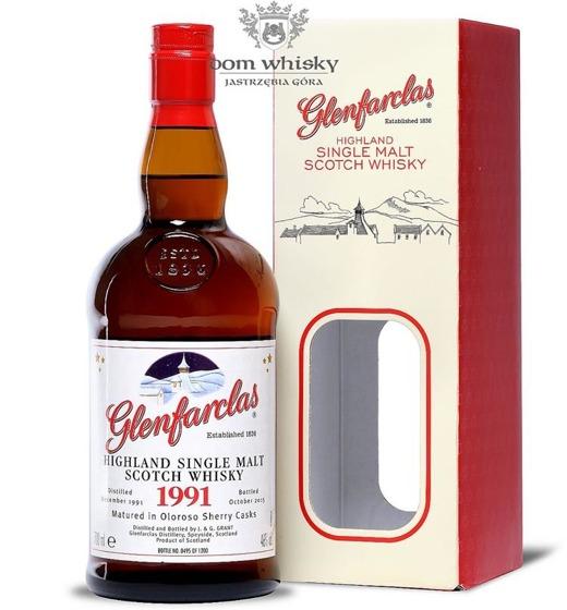 Glenfarclas 1991 (B.2015) Oloroso Sherry Cask / 46% / 0,7l