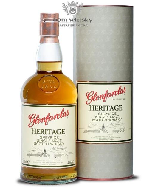 Glenfarclas Heritage / 40% / 0,7l