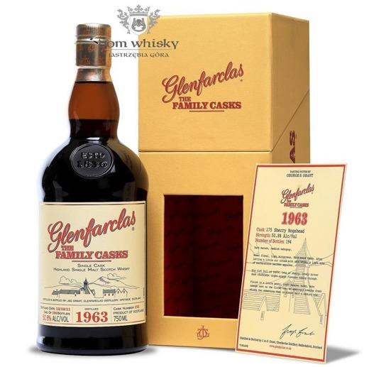 Glenfarclas The Family Casks D.1963 B.2011 / 50,8% / 0,75l