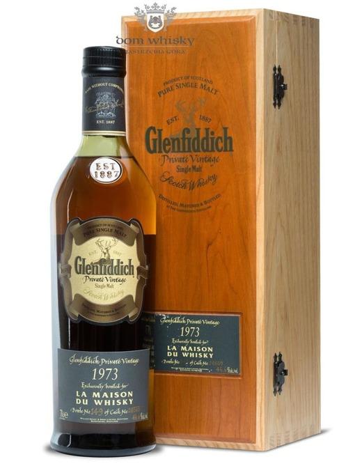 Glenfiddich 1973 Private Vintage, 34-letni(Cask28563)46,6% /0,7