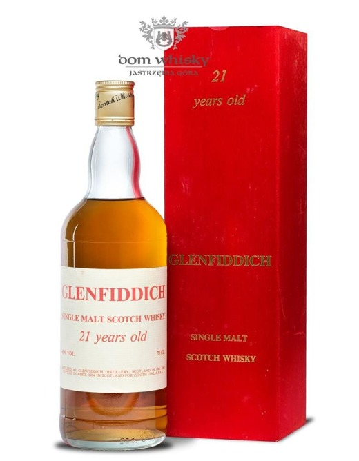 Glenfiddich 21-letni Bottled for Zenith Italia / 45% / 0,75l
