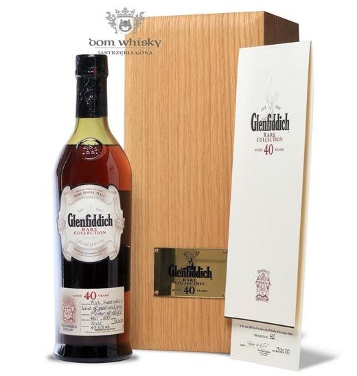 Glenfiddich 40-letni, Rare Collection (Bottled 2000) 43,6%/0,7l