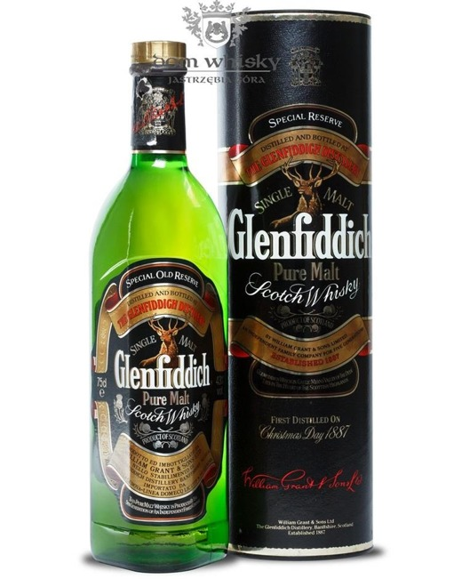 Glenfiddich Special Old Reserve (Tuba) / 43% / 0,75l