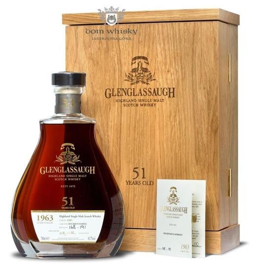 Glenglassaugh 51-letni (D.1963, B.2014) / 41,7% / 0,7l