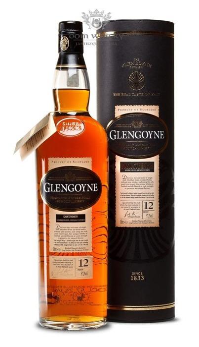 Glengoyne 12-letni Cask Strength / 57,2% / 1,0l
