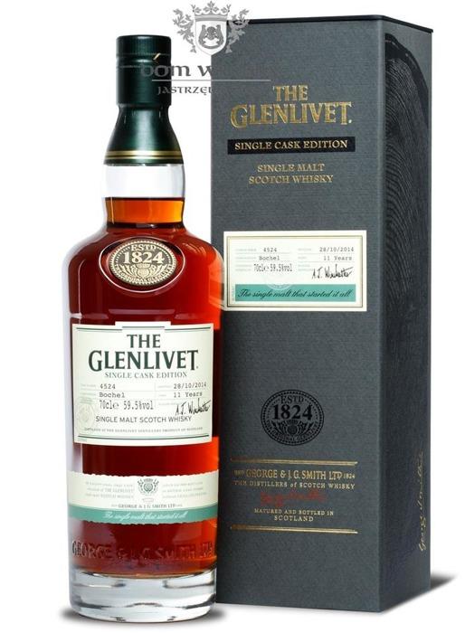 Glenlivet 11-letni Bochel 2014 Release / 59,5% / 0,7l