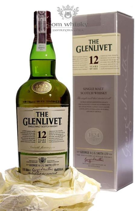 Glenlivet 12-letni / 40% / 1,0l