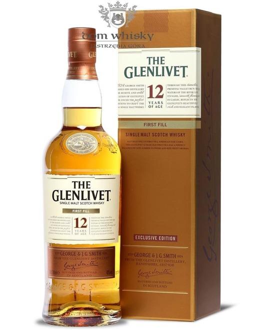 Glenlivet 12-letni, First Fill American Oak Cask / 40% / 0,7l