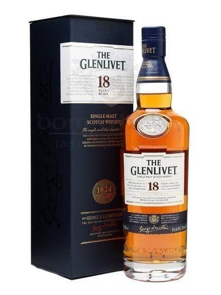 Glenlivet 18-letni / 43% / 0,7l