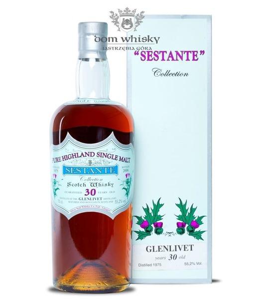 Glenlivet 30-letni, (D.1975, B.2006) Sestante / 55,2% / 0,7l