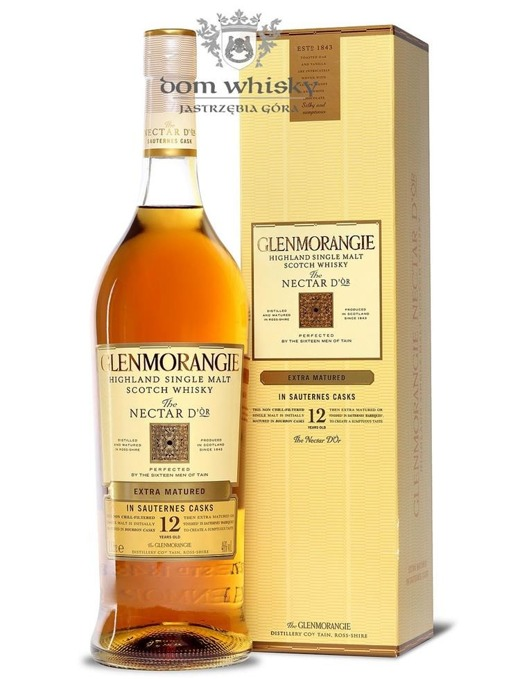 Glenmorangie 12-letni Nectar D'Òr, Sauternes Finish / 46% / 1,0l