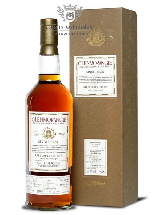 Glenmorangie 12-letni Single Cask (D.1993, B.2005) /58,2%/0,75l