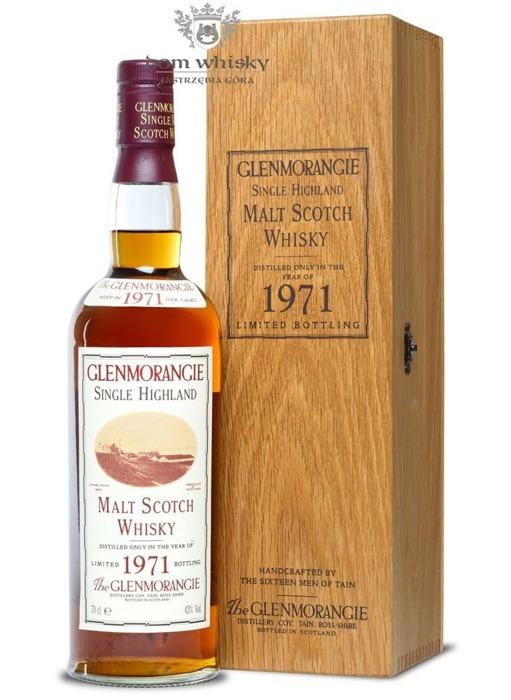 Glenmorangie 1971 Vintage (Bottled 1993) / 43% / 0,7l