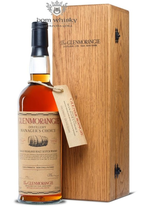 Glenmorangie Manager's Choice (D.1987,B. 2001) / 57,2% / 0,7l