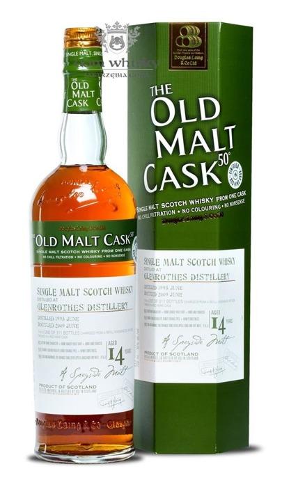 Glenrothes 14-letni (D.1995 B.2009) Old Malt Cask / 50% / 0,7l