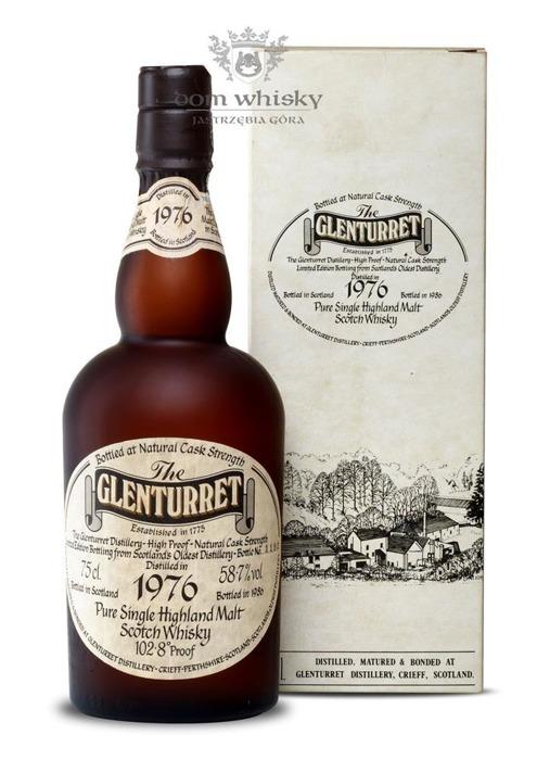 Glenturret 1976 (Bottled 1986) Cask Strength / 58,7% / 0,75l
