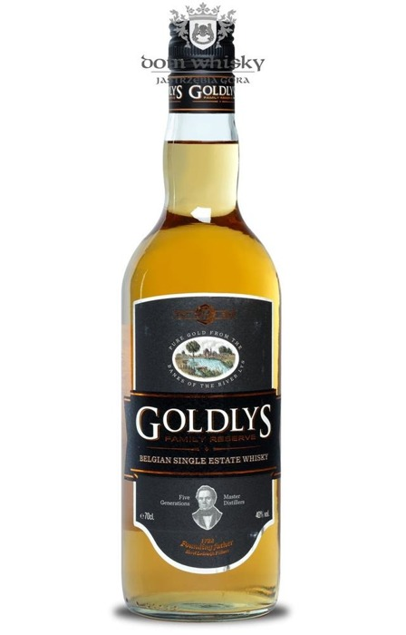 Goldlys Family Reserve Whisky (Belgia) / 40% / 0,7l