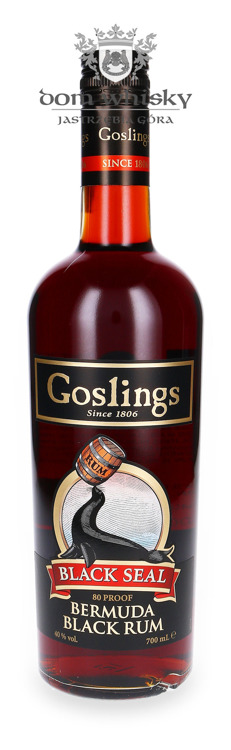 Gosling's Black Seal Bermuda Black Rum / 40% / 0,7l