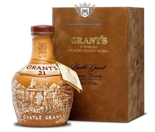 Grant's 21 letni Castle Grant / 40% / 0,7l