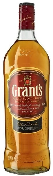 Grant's Blended Scotch Whisky / 40% / 1,0l