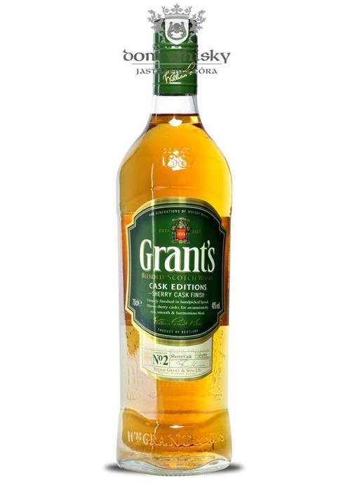 Grant's Sherry Cask Finish / 40% / 0,7l