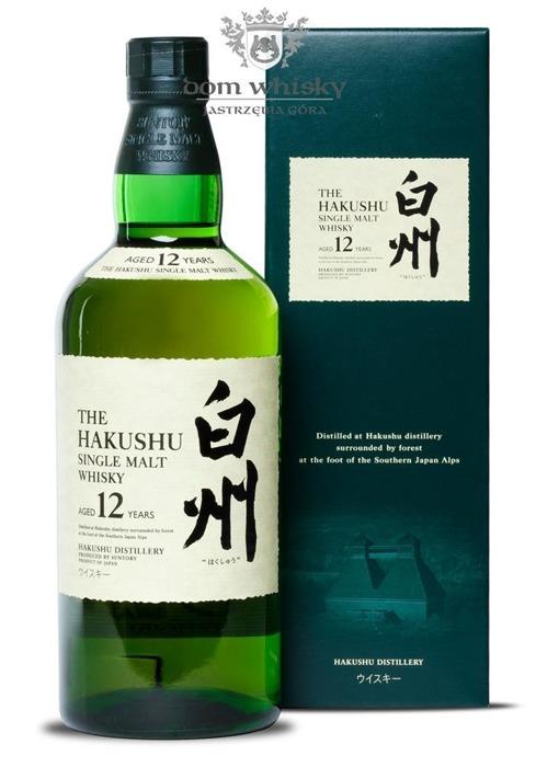 Hakushu Malt 12-letni Suntory / 43% / 0,7l