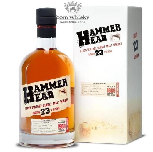 Hammer Head 23 letni Single Malt 1989 L1549 (Czechy) /40,7%/0,7l
