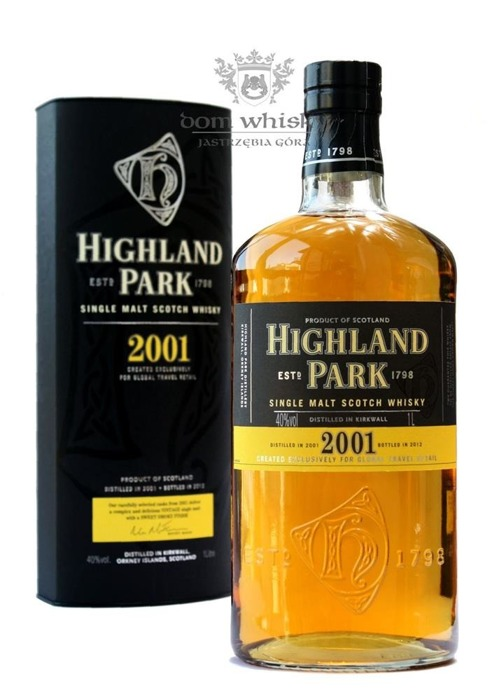 Highland Park 2001 Vintage (Bottled 2012) / 40% / 1,0l