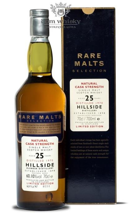 Hillside (Glenesk) 25-letni (D.1970 B.1996)Rare Malts/60,1%/0,7l