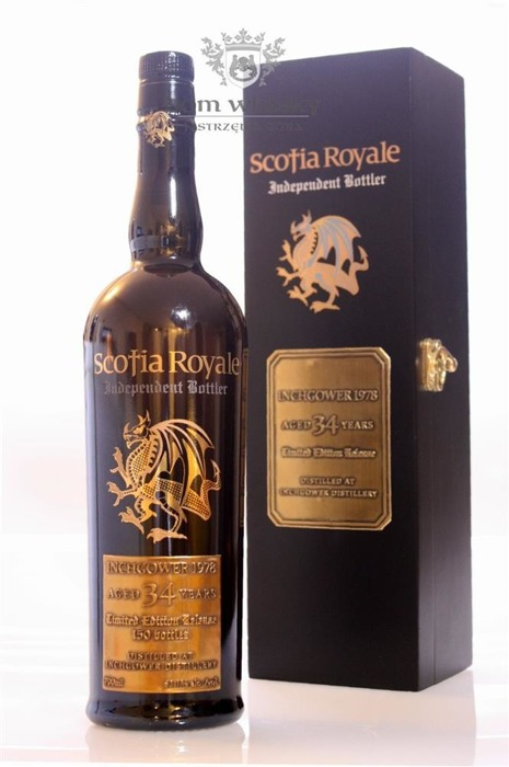 Inchgower 1978, 34-letni, Scotia Royale /53,1%/ 0,7l