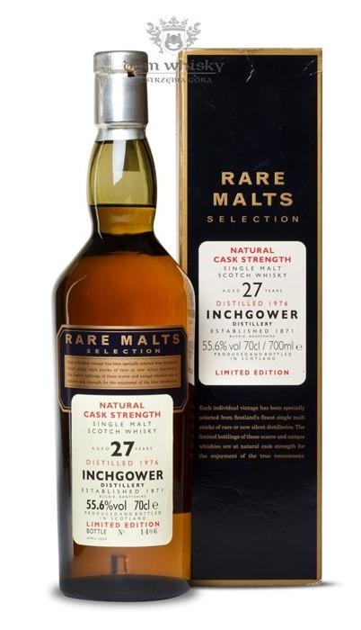 Inchgower 27-letni (D.1976, B. 2004) Rare Malts/ 55,6%/0,7l