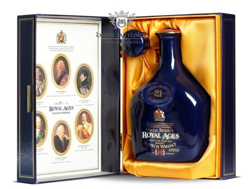 J&B 21 letni Royal Ages / 43% / 0,75l