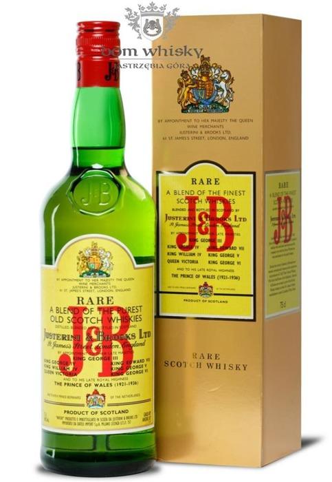 J&B Blended Scotch Whisky 1970's / 40% / 0,75l